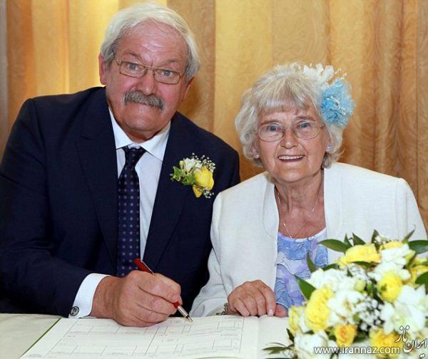 رؤیایی ترین پیوند پس از 42 سال نامزدی! (عکس)