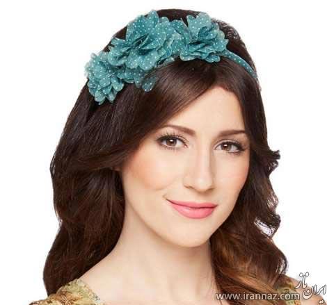 گالری مدل زیبای گل سر و هدبند مجلسی