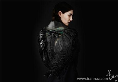طراحی یک لباس عجیب برای زنان (عکس)