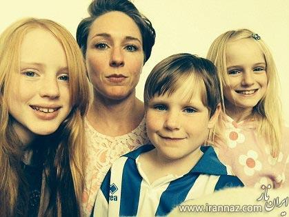 روش مادر انگلیسی برای کشتن شپش در موهای فرزندانش (عکس)