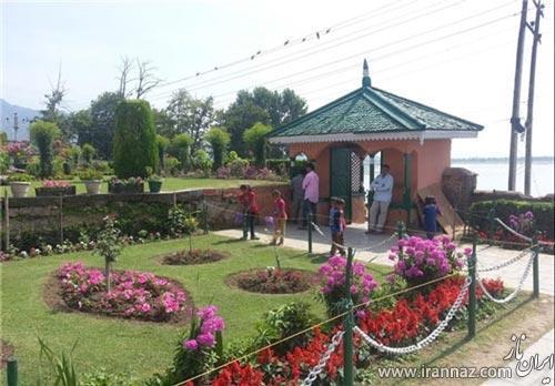 جلوه زیبای باغ نشاط در کشمیر (عکس)