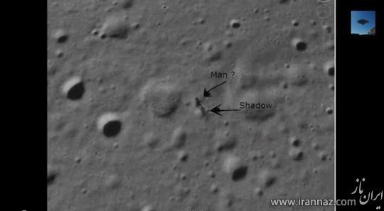 پیدایش و کشف یک انسان فضایی در کره ماه! (عکس)