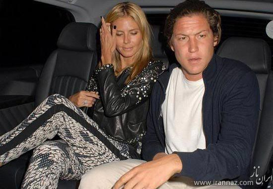 هایدی کلوم مدل معروف به همسرش خیانت کرد! (عکس)