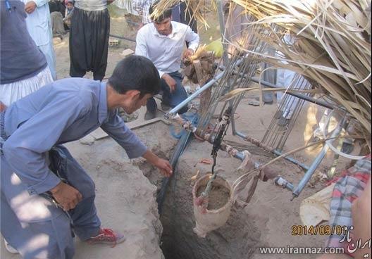 حادثه دلخراش برای جوان روستانی موجب مرگ او شد (عکس)