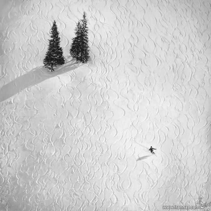 عکس های رخ نمایی شکوه و عظمت طبیعت در مقابل انسان