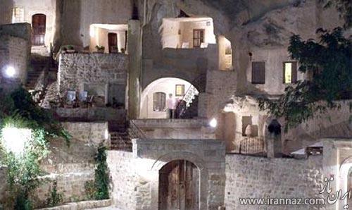 تصاویری از یک هتل دیدنی و جذاب در ترکیه