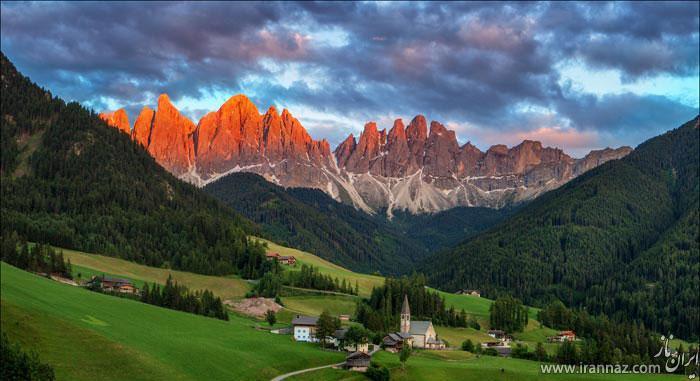 عکس های جالب و شگفت انگیز از طبیعت پهناور و زیبا