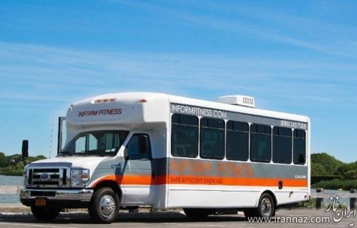 اتوبوسی جالب مخصوص بدنسازان (عکس)