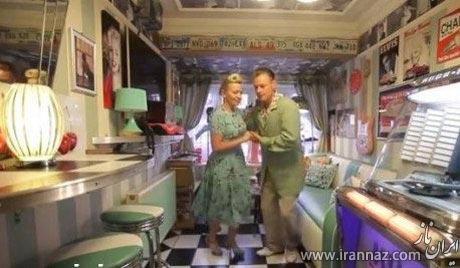 ایده جالب زوج جوان برای جلوگیری از جدا شدن! (عکس)