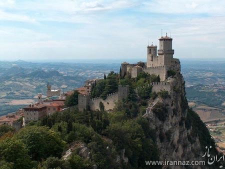معرفی مشهورترین قلعه های دنیا (عکس)