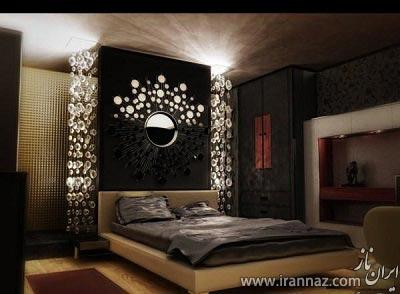 رؤیایی ترین طراحی دکوراسیون اتاق خواب (عکس)