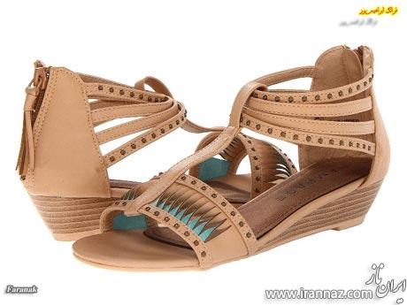 مدل جدید کفش و صندل زنانه و دخترانه