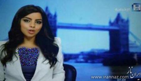 جنجال تصویر بی حجاب زن در تلویزیون عربستان (عکس)