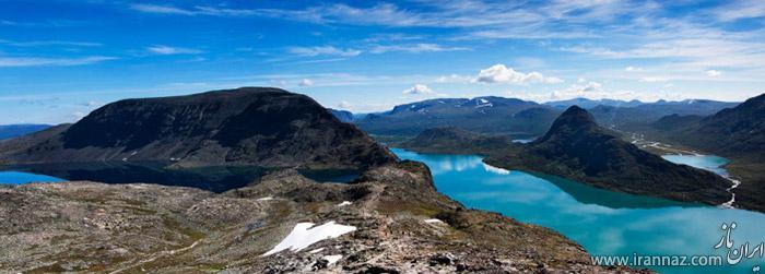 عکس های دیدنی از 10 دریاچه شگفت انگیز جهان