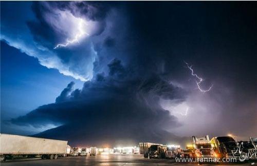 تصاویر دیدنی از اعجاب انگیزترین طوفان ها در طبیعت