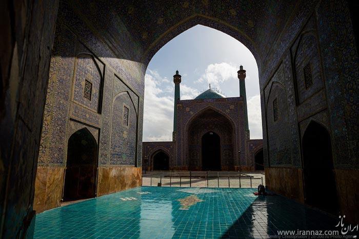 عکس های دیدنی یک جهانگرد خارجی از اصفهان