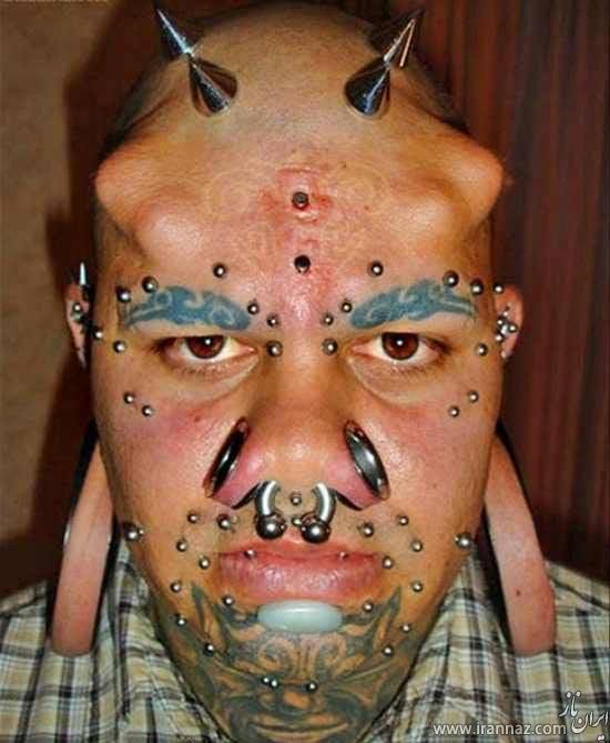 چهره عجیب و ترسناک گوش درازترین فرد دنیا! (عکس)