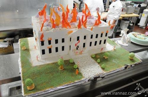 این کیک خشم آمریکایی ها را برانگیخت! (عکس)