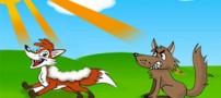 داستان زیبا و کودکانه  گرگ و روباه