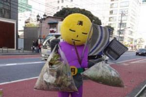 قدرت خارق العاده یک سوپرمن ژاپنی در خیابان ها (عکس)