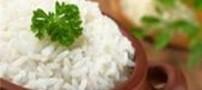 برنج را آبکش نکنید