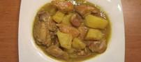 طرز طبخ خورشت کاری مرغ