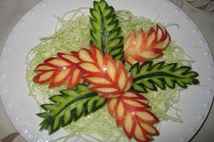 مدل های جالب برای تزئین سیب (عکس)