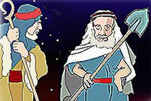تفسیر ضرب المثل بیلش رو پارو کرده