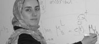 عکس دختر نابغه ایرانی کنار همسر خارجی اش