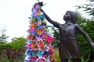 ابتکار دانش آموز ژاپنی نماد صلح جهانی شد (عکس)