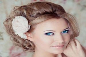 مدل شینیون عروس با گل و تاج (عکس)