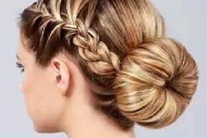 آموزش تصویری مدل موی ساده و شیک برای مجلس