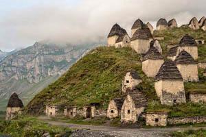 مکانی دیدنی اما ترسناک در روسیه برای گردشگران (عکس)