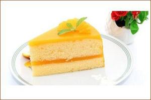 آموزش تهیه کیک شیفون با رویه پرتقال