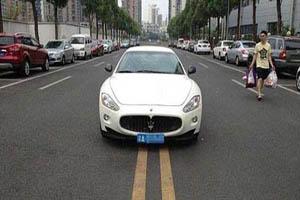 وقتی دختر چینی در رانندگی قانون شکنی می کند! (عکس)