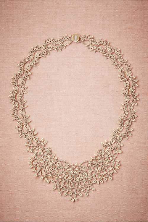 گالری زیباترین گردنبدهای عروس