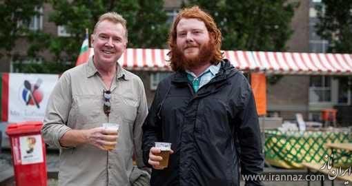 تجمع و جشن مخصوص مو قرمزی ها در هلند (عکس)