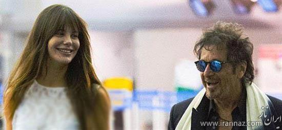 زوج خوشبخت سرشناس با فاصله سنی زیاد (عکس)