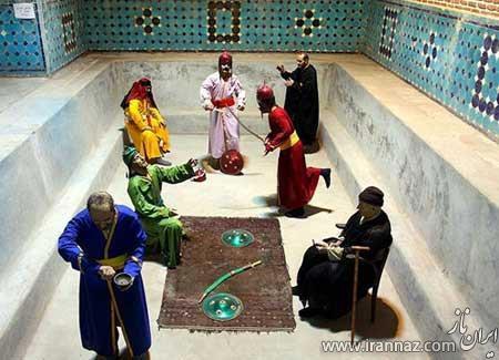 تصاویری از کهن ترین حمام شهر قزوین