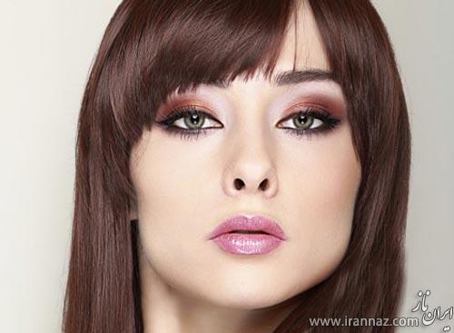 جدیدترین مدل میکاپ صورت و شینیون