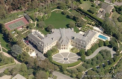 خانه های لوکس و مدرن بازیگران آمریکایی (عکس)