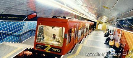 عجیب و جالب ترین ایستگاه متروی دنیا (عکس)