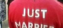 ازدواج یک زوج به سبک جالب فوتبالی (عکس)