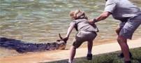 اقدام ترسناک پسر شجاع در روز تولدش! (عکس)