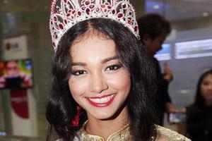 ملکه زیبایی متقلب خلع تاج شد (عکس)