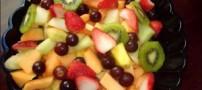 سالاد میوه و طرز تهیه آن