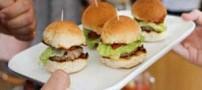 همبرگر تولید شده با طعم گوشت انسان! (عکس)