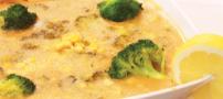 دستور طبخ و تهیه سوپ برکلی