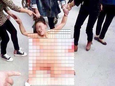 انتقام گیری فجیع از زن چینی به خاطر خیانت! + تصویر