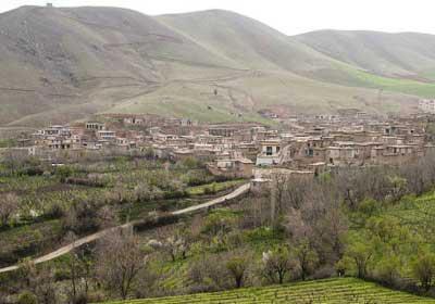 روستای کندوله برای گردشگری در کرمانشاه (عکس)